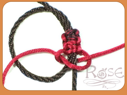 rose手工饰品开发 - 编织手环diy步骤